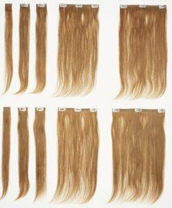Clip In hair Extensions PRO 249x300 - CLIP ON lasni naravni ali sintetični podaljški: uporaba in nega