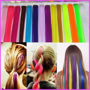 frizure barvni clip podaljski 1 300x300 - CLIP ON lasni naravni ali sintetični podaljški: uporaba in nega