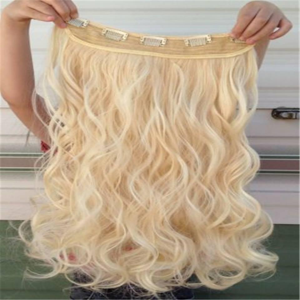lasni podaljski clip on - Lasni podaljški: pravi lasje ali sintetični materiali