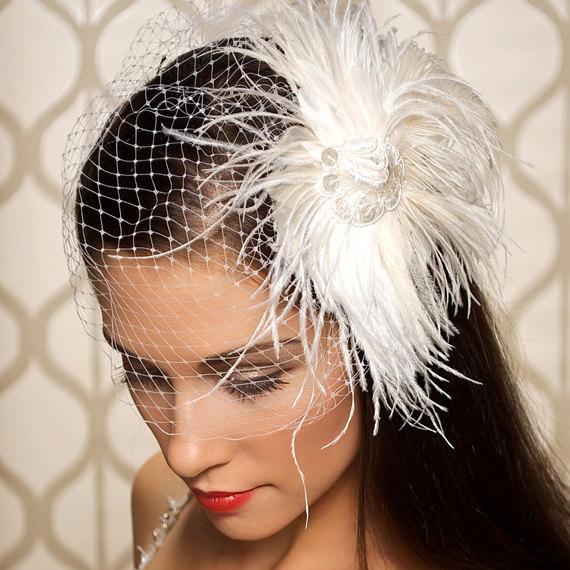 modni  lasni nakit nevesta klobucek - Lasni dodatki, nakit za lase in drugi pripomočki