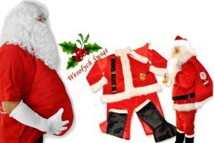 PH dedek mraz kostum 5 1 300x201 - Kostum za božička  set obleka 12 delni pliš in debela obroba