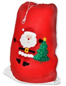 PH dedek mraz kostum vreca 1 1 232x300 - Kostum za božička  set obleka 12 delni pliš in debela obroba