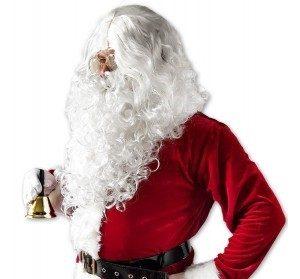 PU lasulja brada bozicek 3 300x279 - Božiček lasulja in brada ter očala set za dedka mraza ali božička  PU-LASULJA-B