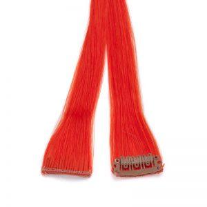 komadni podaljske rdeci 1 300x300 - Barvni lasni podaljški   a 2 kom vsak z 1 spojko v rdeči barvi