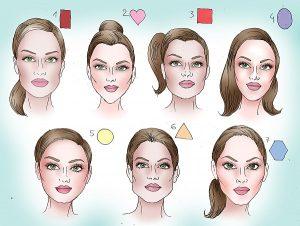 frizure oblika obraza 300x226 - Oblika obraza in frizura - katera frizura je zame?
