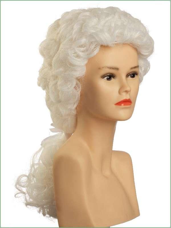 KARNEVAL10SEITE 600x800 - Baročna pustna lasulja z čopom bela visoka za njega ali njo PER-1009