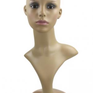 VK 276516777259 ml 300x300 - Vrteča glava plastična za hrambo lasulj z make up-om VK-PT3