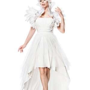 80062 014 XXX 00 300x300 - Božična obleka labod beli kostum komplet AX-80062