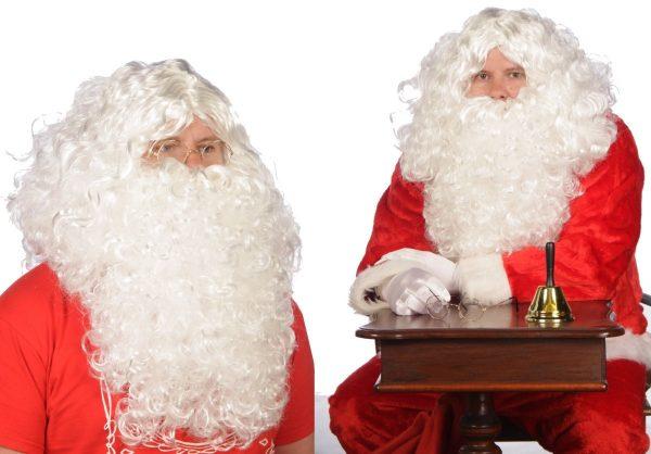 božič brada in lasulja za dedka mraza