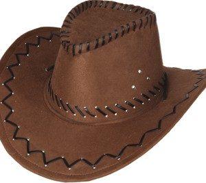 OB 23071 300x267 - Pustni dodatki moški klobuk Kavbojski rjavi OB-23071