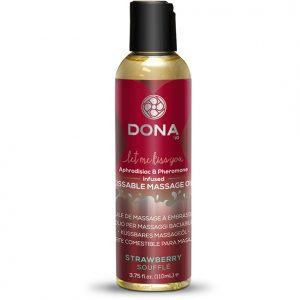E26845 300x300 - Dona - Kissable Masažno olje Strawberry Soufflé 125