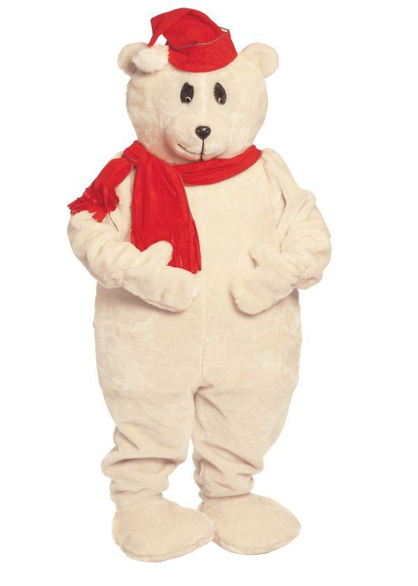 144004 600x842 - Božična maskota Beli severni polarni medved