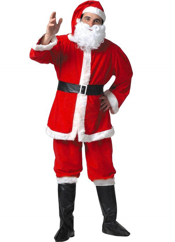 442211 600x829 - Božični kostum Božiček SANTA CLAUS