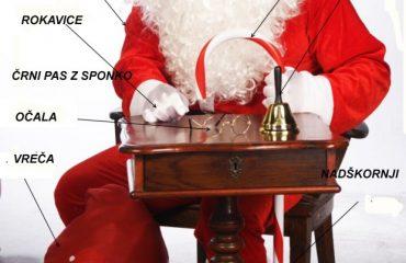 kostum božiček
