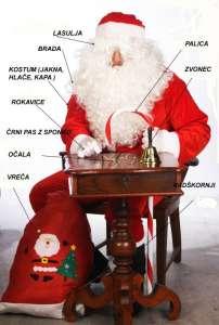 bozicek kostum celoten komplet 202x300 - Božiček kostum obleka set 12 delni set debel pliš žamet obroba