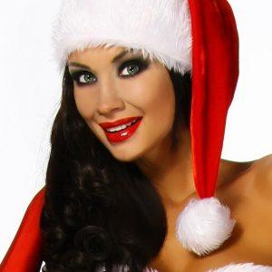 12322 009 XXX 00 300x300 - Božična oblačila božična kvalitetna kapa pompom  z bogato obrobo AX-
