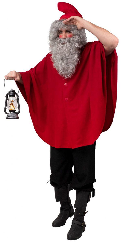 OB 884 600x1186 - Božični kostum  plašč za palčeka OB-884