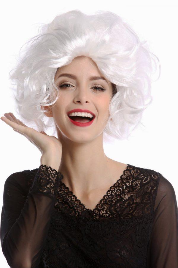 VK 1353 P68J339 01 600x900 - Božična bela lasulja tupirana za gospo Božičico